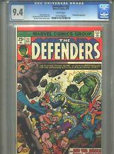 Defenders #23 CGC 9.4 (1975) Dr. Strange Hulk Yellowjacket White Pages