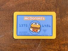 Vintage 2001 McDonald's Cash Register Replacement Credit Card Happy Meal Toy