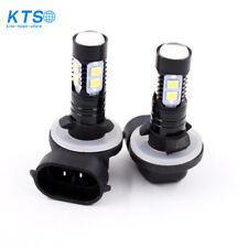 NEW 2x 50W 881 889 6000K Super White High Power LED Fog Driving Lights Bulbs USA