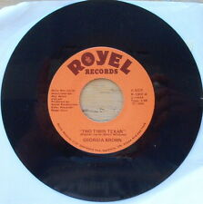 Ultra Rare Georgia Brown - Two Timin' Texan - NM- Vinyl Royel 1000