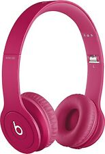 """Apple """"Beats by Dr. Dre"""" Solo HD Wired Stereo Headphones MHA12AM/A Pink"""