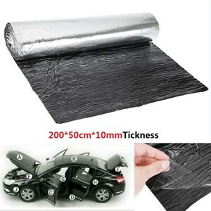 10mm Car Heat Shield Insulation Sound Deadening Mat Sound Deadener Glass Fiber