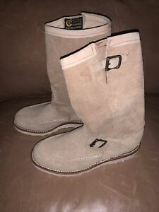 NEW Chippewa 1901M02 Men's 11-in Suede Highlander Boot Sand