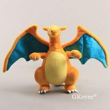 CHARIZARD Pokemon XY Plush Dragon Toy Stuffed Doll 9'' Teddy COOL Kids Gift