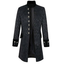 New Men�€˜s Gothic Jacket Frock Retro Coat Fashion Steampunk Victorian Steampunk