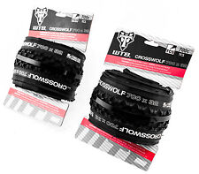 WTB Cross Wolf 700c x 32 TCS Folding PAIR Bike Tires 60TPI Casing Cyclocross New