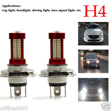 2PCS H4 40W 10000LM CREE LED Headlight Kit Beam Bulb Car LED Light 6500K White