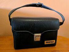 Vintage PENTAX Hard Camera Case / Bag With Strap