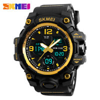 Men's Tactical Army Digital Analog Military Sports Waterproof Quartz Wrist Watch