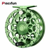 Piscifun Crest Fly Reel 5/6 7/8 9/10 Fully Sealed Drag CNC Machined Aluminium