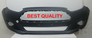 FORD FIESTA FRONT BUMPER 2013-17 PRIMED-NEW-BEST QUALITY 1814802 (FITS FIESTA)