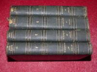[2nd EMPIRE] NAPOLEON III / OEUVRES 4/4 Vol TB RELIE 1856