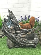Aqua Moda Squirrel Stream With LED Lights Garden Water Feature