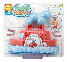 ALEX Toys 826 Rub A Dub Tooting Plastic Tug Boat For Kids Ages 2 Year And Up New
