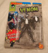 Toy Biz Marvel Superheroes Venom Flicking Tongue Action Figure Brand New