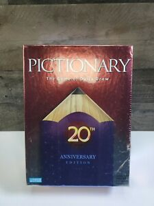 NEW PICTIONARY GAME- 20TH ANNIVERSARY EDITION / THE GAME OF QUICK DRAW / SEALED