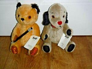 Steiff Teddy Bears ~ Sooty & Sweep ~ Limited Editions ~ Rare