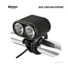 Gemini Lights DUO 2200 MULTISPORT Enduro XC MTB LED Bicycle Headlight