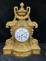 "Antique French Ormolu Bronze ""Tiffany Co Parts Clock"" Case Barbedienne Louis XVI"
