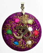 Orgone pendant necklace - EMF protection, Tesla ,chakra + free orgonite gift
