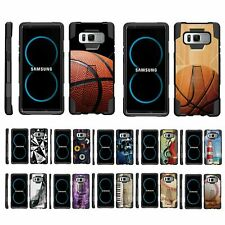 For Samsung Galaxy Note 8 N950 Dual Layer Hybrid Stand Fitted Case