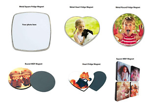 Personalised Photo Picture Custom Made Fridge Magnet