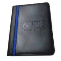 POLICE To Protect and To Serve Office Leatherette Thin Blue Line Padfolio & More