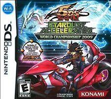 Yu-Gi-Oh 5D Stardust Accelerator: World Championship 2009 (Nintendo DS, 2009)