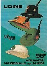 A2348) ALPINI, UDINE 1983, 56 ADUNATA NAZIONALE. CAPPELLI ALPINI.