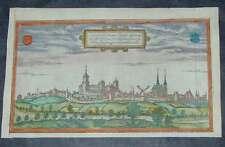 Kleve Niederrhein Nordrhein Westfalen Original Kupferstich Braun Hogenberg 1580