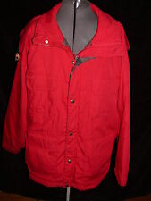VTG 80S MENS LARGE WOOLRICH  RED 60/40 MOUNTAINEERING PARKA COAT JACKET