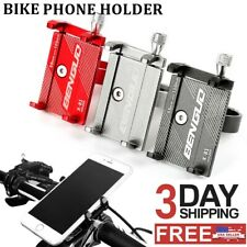Universal Aluminum Motorcycle Bike Bicycle Mount Handlebar Holder For Cell Phone
