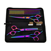 Professionals Hairdressing Tool Kit Hair Cutting Scissors Salon Barber Shear Set