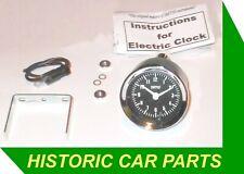 Herreros Estilo Analógico Negro Clásico Reloj Para MG Coches 1950-70s Mga Mgb