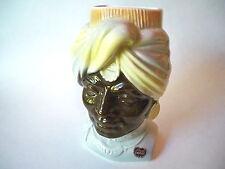 Vintage Royal Copley Art Pottery Sultan Blackamoor Head Vase Wall Pocket #2