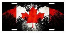 CANADA Flag Custom License Plate Canadian Emblem Eagle Version # 2