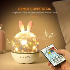 Moredig FEM1709030 LED Night Light Projector Lamp - Black/White