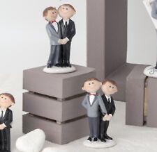 BOMBONIERE MATRIMONIO - COPPIA SPOSI UOMINI LUI + LUI COLLEZIONE MARRIED 049448