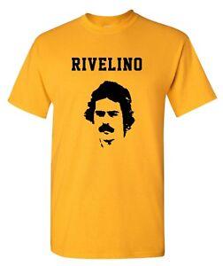 Rivelino Brazil 70s World Cup Football Team Mens T-Shirt