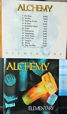 Alchemy - Elementary (CD, 1993, Alchemy X, Inc., US Indie) EXTREMELY RARE
