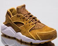 Nike Air Huarache Run Premium Women Lifestyle Shoes Muted Bronze 683818-202