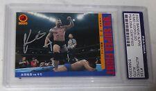 Kimo Leopoldo Signed 2000 Bandai New Japan Pro Wrestling Card PSA/DNA UFC NJPW