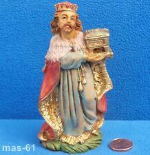Personaggio Re FONTANINI depose samunetti sul tell personaggio mangiatoia 10,5 cm Vintage B