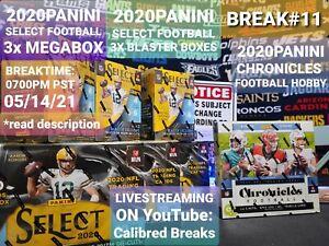 BREAK#11 DALLAS COWBOYS 2020 CHRONICLES🏈HOBBY/3X SELECT MEGA/BLASTER