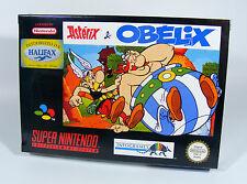 ASTERIX & OBELIX für Super Nintendo NEU in Folie CIB NEW SNES astérix and Spiel