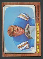 1966 Topps  #124 Sam Gruneisen VG/VGEX C00017246