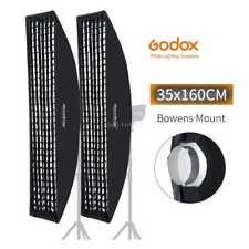 "2pcs Godox 14""x63"" 35x160cm Strip Beehive Honeycomb Grid Softbox w/ Bowens Mount"