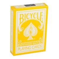 Yellow Deck Bicycle Playing Cards Magic Tricks 2nd Gen