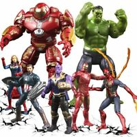 "Marvel Avengers Legends 6"" Action Figure Toys Iron Man Hulk Thanos Spiderman"