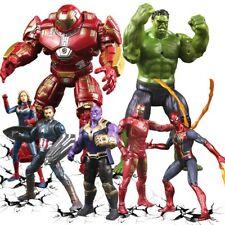 Marvel Legends Avengers Action Figure Toys Iron Man Captain America Spider Man
